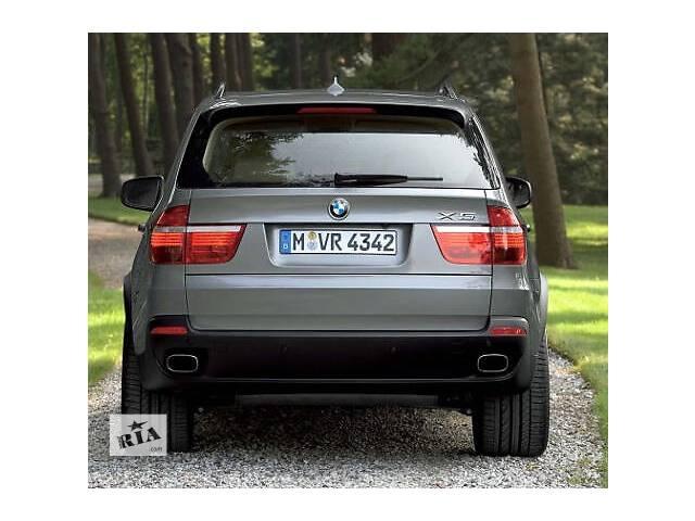 бу Насадки на глушитель BMW X5 E70 квадратные в стиле 4.8 в Луцке