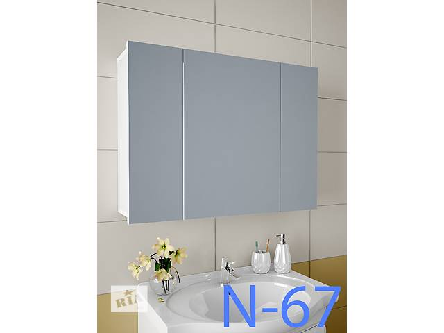 Навесной, зеркальный шкаф для ванной комнаты N-67- объявление о продаже  в Киеве