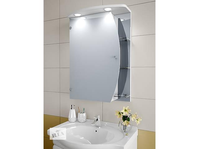 купить бу Навесной, зеркальный шкаф для ванной комнаты NZ-557 в Киеве