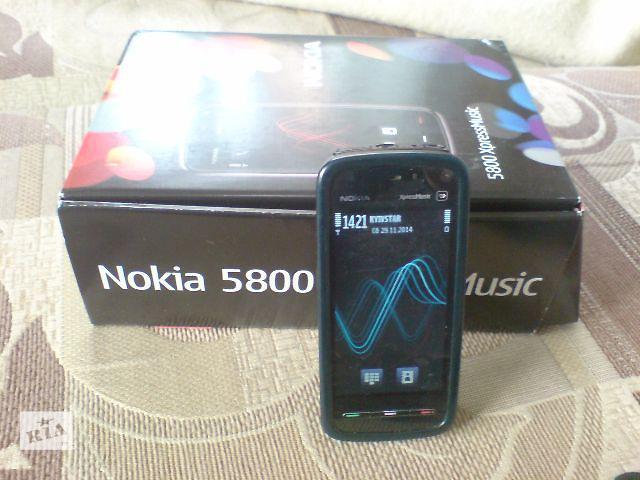продам Nokia 5800 XpressMusic оригинал бу в Киеве