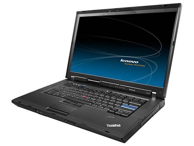 """купить бу Ноутбук Lenovo ThinkPad R500 15.4"""" (Core2Duo 2.1 ГГц, 2 ГБ ОЗУ DDR3, DVD-RW, Windows7) в Харькове"""