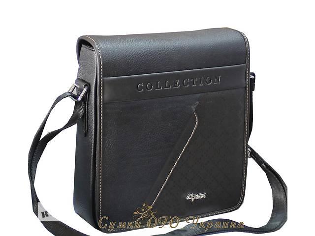 купить бу Новая черная мужская сумка. Сумка планшет. Барсетка. в Одессе
