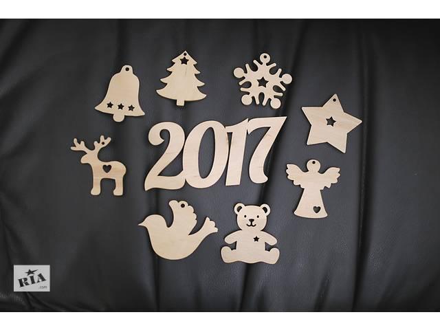 купить бу Новогодние игрушки из фанеры в Запорожье