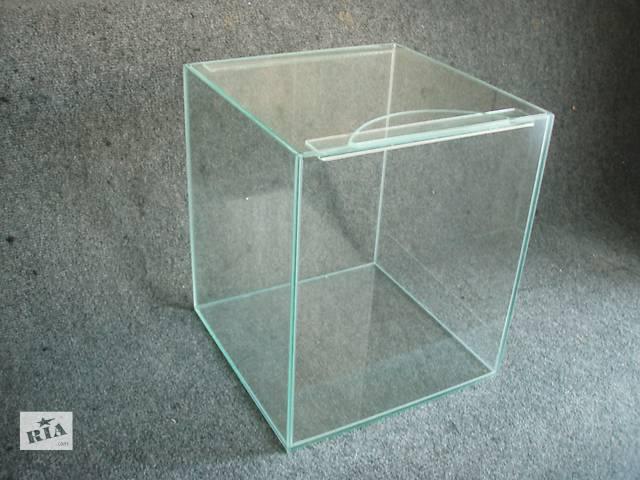 купить бу  АКВАРИУМ 32л+покровное стекло ПРОДАЖА ИЗГОТОВЛЕНИЕ . Отправка по Украине в Днепре (Днепропетровск)