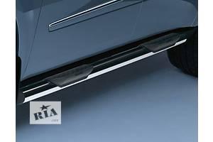 Новые Боковые пороги, подножки Mercedes GL-Class
