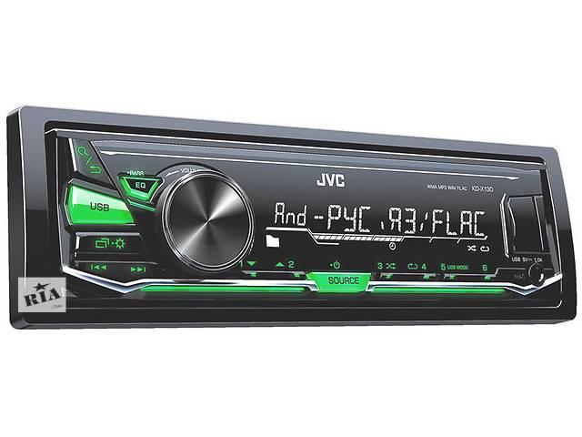 продам Новый Автомагнитола JVC KD-X130Q бу в Житомире