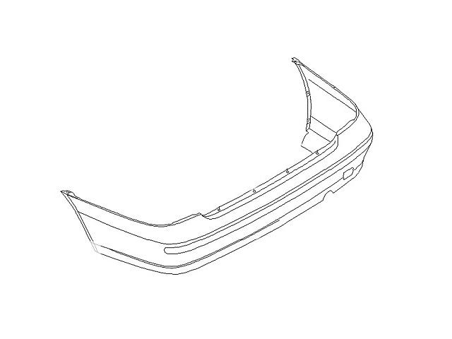 продам Новый бампер задний для седана Nissan Almera бу в Ивано-Франковске