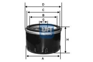 Новый Фильтр масляный FIAT UNO 83-00 0.9 i