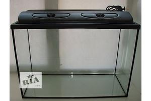 Новый комплект: аквариум 155л + крышка с освещением. Пересылка с днепропетровская