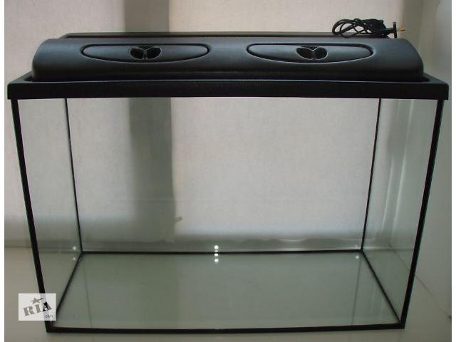 бу Новый комплект: аквариум 155л + крышка с освещением. Пересылка из днепропетровска в Днепре (Днепропетровск)