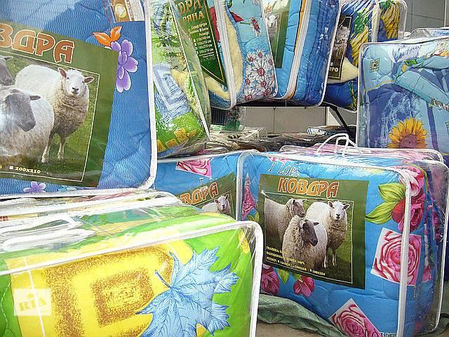бу одеяла из 100% овечьей шерсти закрытые и с открытым мехом в Кропивницком (Кировоград)