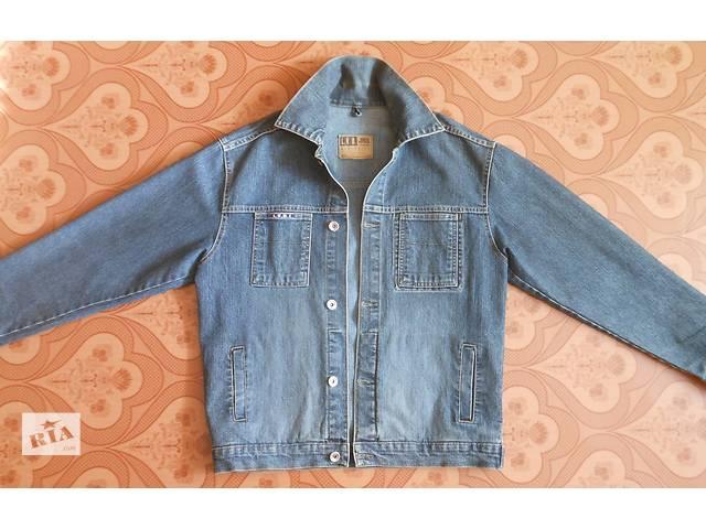 купить бу Мужской джинсовый пиджак в Апостолово