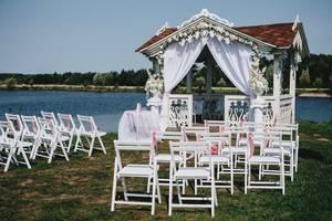 Оформление свадьбы. Выездная регистрация. Фото зона.