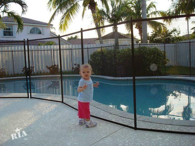 Ограждение для бассейна, детское ограждение