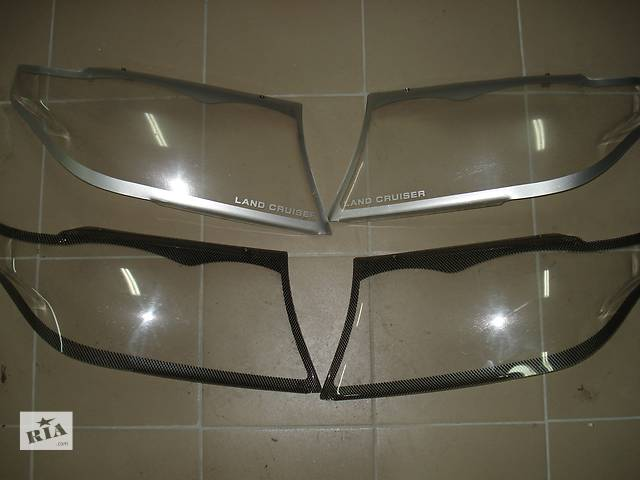 Оригинальные накладки на фары Тойота LC 200- объявление о продаже  в Харькове