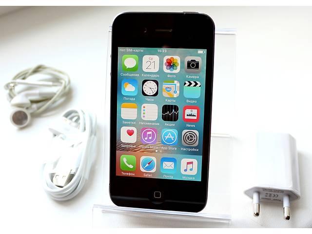 Оригинальный Apple iPhone 4S 32GB Черный Неверлок / Black Newerlock- объявление о продаже  в Кременчуге