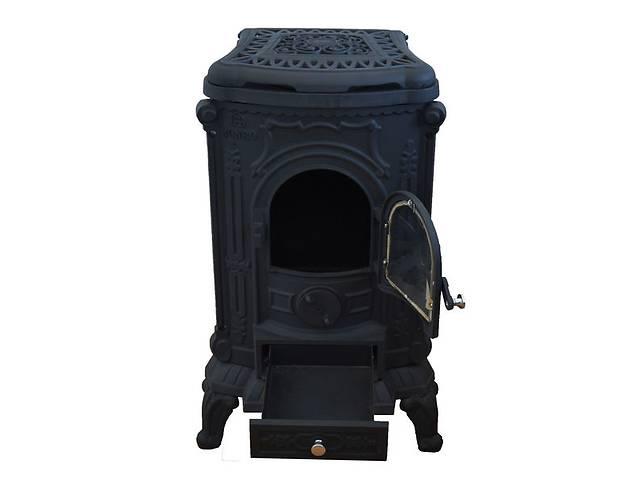 бу Камин буржуйка печь чугунная Black 8 кВт в Днепре (Днепропетровск)