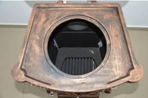 Камін піч піч буржуйка чавунна Bonro Gold 9 кВт