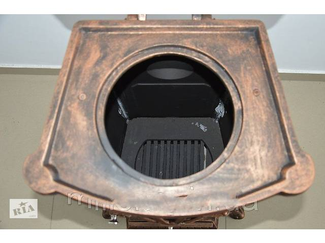 купить бу Камін піч піч буржуйка чавунна Bonro Gold 9 кВт в Дніпрі (Дніпропетровськ)