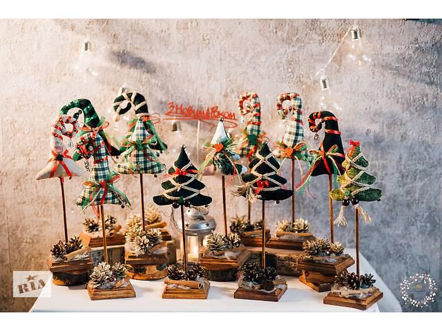 Декоративні ялинки на дерев'яних підставках- объявление о продаже  в Житомире