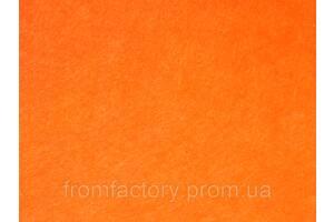 Фетр 1мм (разные цвета) 1х1м:Оранжевый