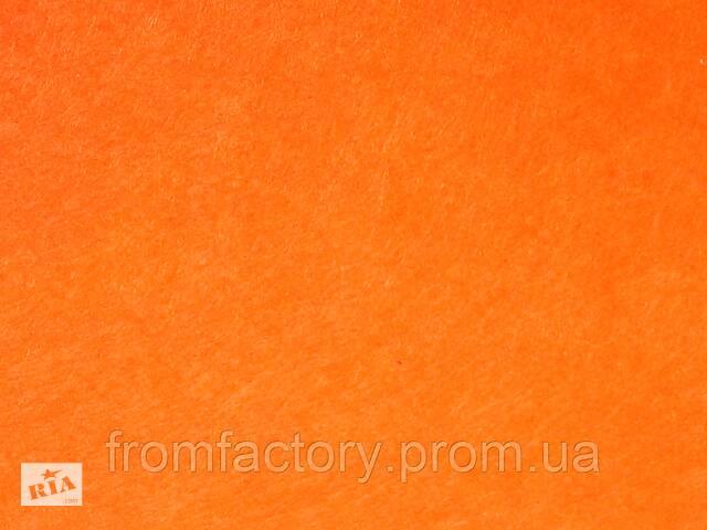 купить бу Фетр 1мм (різні кольори) 1х1м:Помаранчевий в Харкові