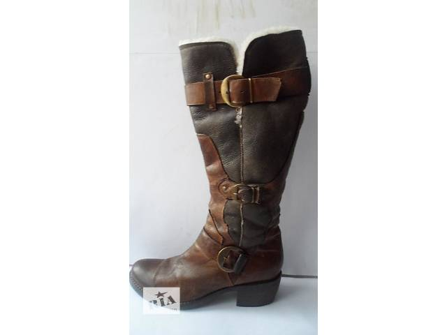 бу Отличные кожаные сапоги от bata (зима) размер 40 италия в Калуше