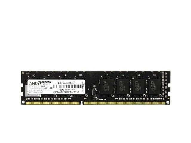 купить бу Память AMD DDR3 1600 4GB BULK в Киеве