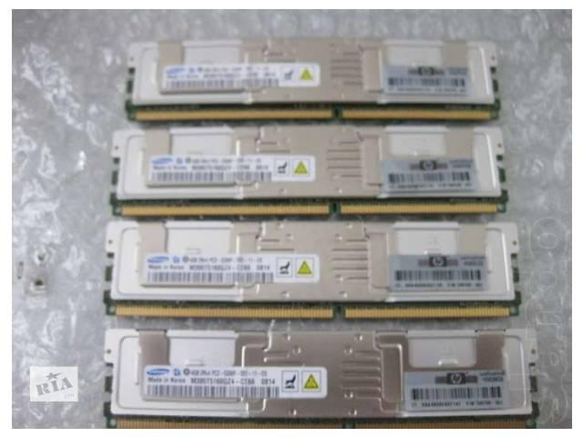 продам Память серверная 4GB PC2-5300F DDR2-667 (Micron) бу в Киеве