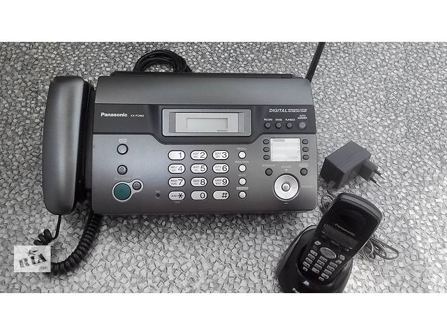 бу Panasonic KX-FC962UA - факс на термобумаге с беспроводной DECT трубкой в Броварах