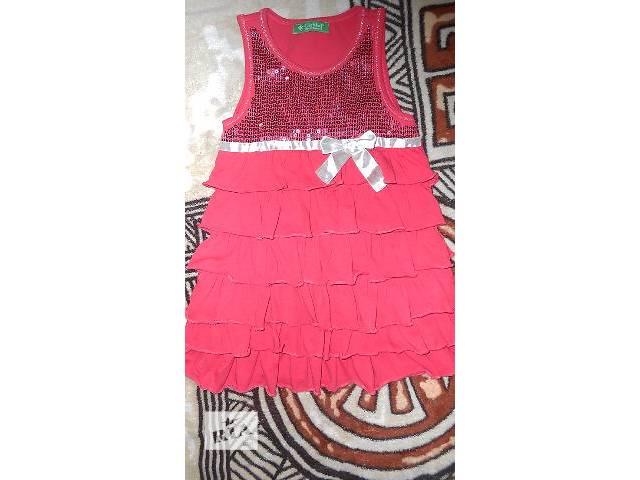 Платье для девочки 5-6 лет- объявление о продаже  в Киеве