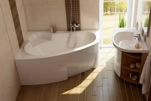 Новые Акриловые ванны Ravak
