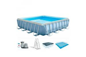 Семейный каркасный бассейн Intex 28766