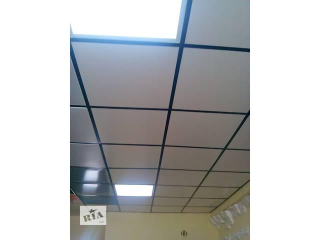 бу  Плиты потолочные ПВХ, плиты пластиковые для подвесного потолка в Киеве