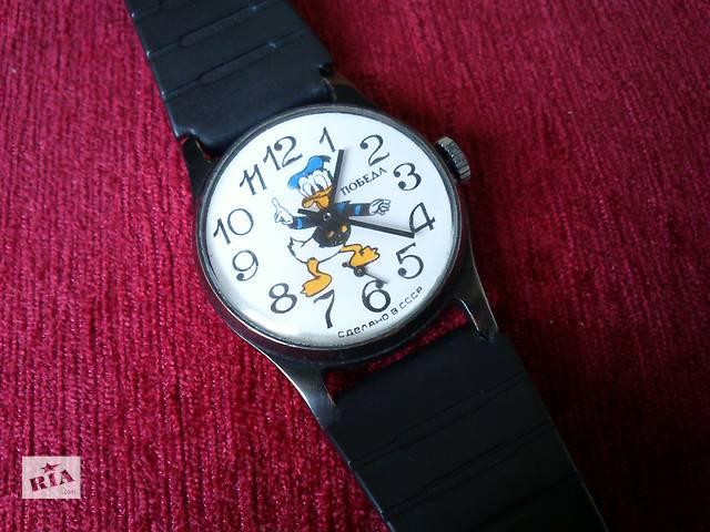продам Победа часы Дональд Дак Donald Duck Disney механические наручные ссср бу в Запорожье