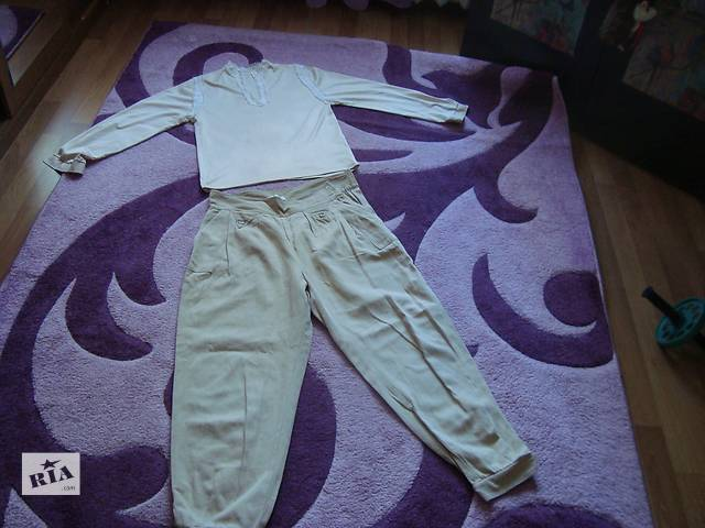 продам Подарю бриджи и красивую блузку со вставками. бу в Киеве