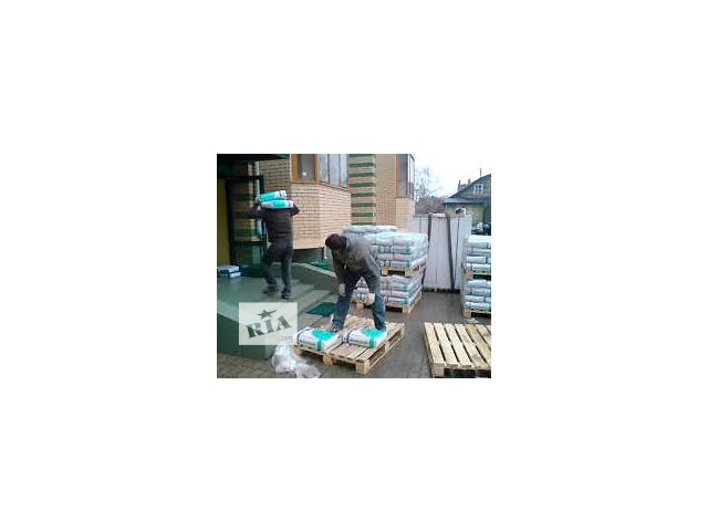 купить бу Подъем стройматериалов на этаж.Погрузка, вывоз строительного мусора. в Киеве