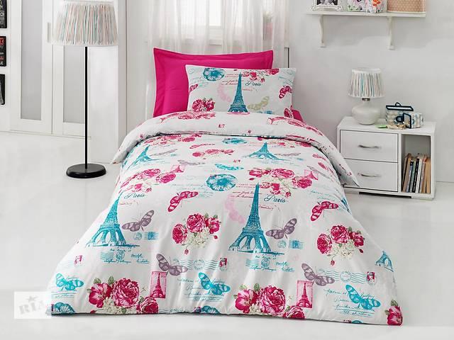 продам Подростковый полуторный комплект постельного белья Cotton Box, ранфорс, Турция бу в Харькове