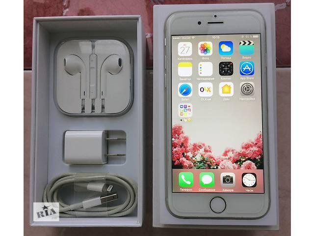 продам Продам Apple iPhone 6 64GB Silver Neverlock! бу в Днепре (Днепропетровск)