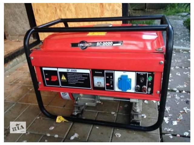 Продам бензогенератор- объявление о продаже  в Красилове