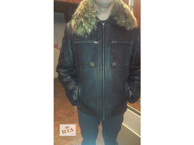 купить бу продам мужскую кожаную куртку ,дубленку в Виннице