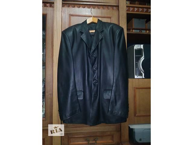 бу Продам новый мужской кожаный пиджак. в Шепетовке