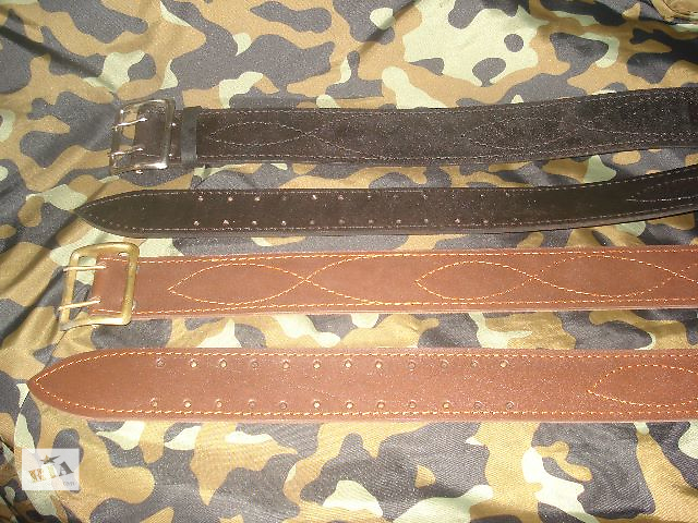 купить бу Продам офицерский ремень черного и коричневого цвета в Виннице