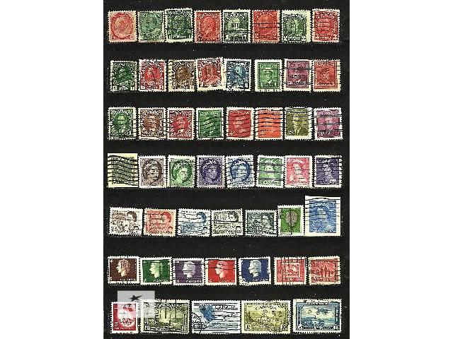 купить бу Продам оптом почтовые марки Канады 1898-1965 в количестве 50 шт в Киеве