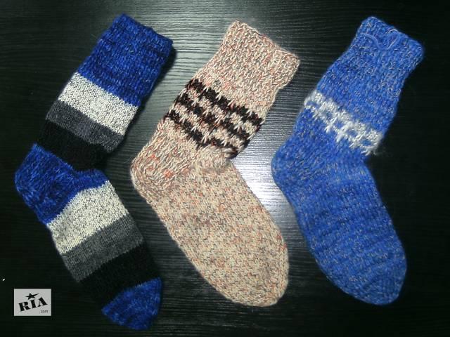продам Продам шерстяные носки ручной вязки бу в Одессе