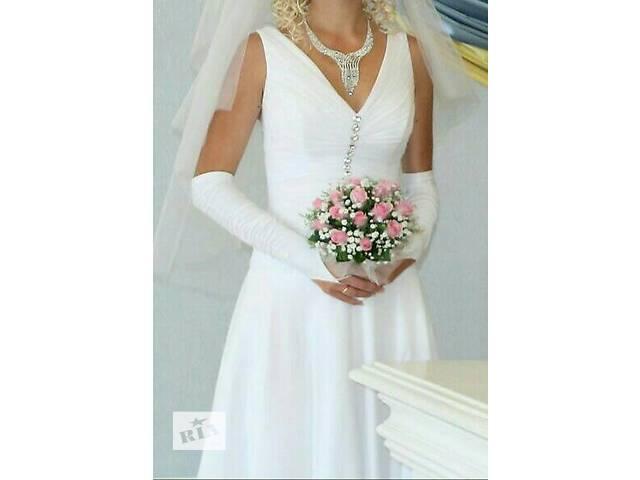продам Продам свадебное платье . ! . ! . ! . бу в Запорожье