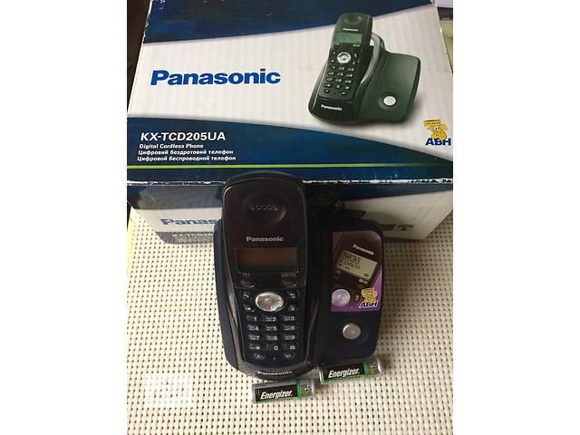 продам Продам  Телефон  цифровой беспроводный PANASONIC КХ-TXD 205 UA, АОН, питание от сети 220, cтандарт DECT радиус действия бу в Киеве