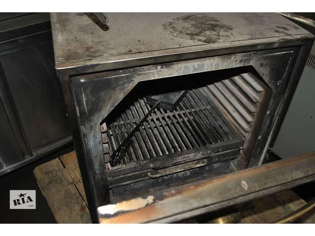 купить бу Продам угольную печь бу хоспер BQ 1H для ресторана, кафе, бара. Хоспер бу обшит нержавеющей сталью 12 мм в Киеве