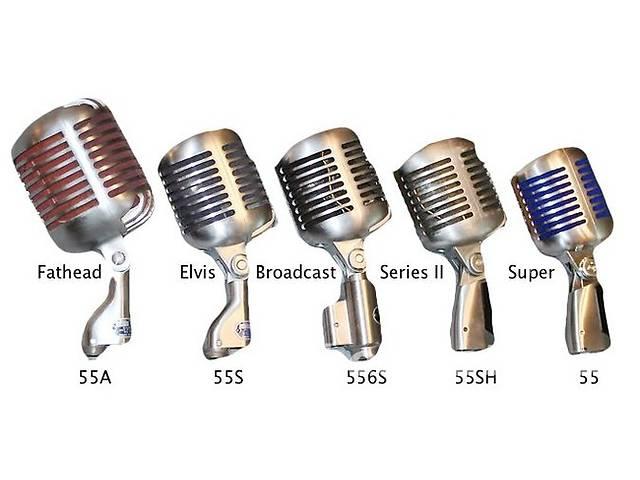 Продам винтажный ретро микрофон Shure Model 55- объявление о продаже  в Киеве