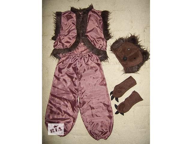 Продам б у детский новогодний костюм Медведь на 4-6 лет - Дитячий ... e87d4290ac213